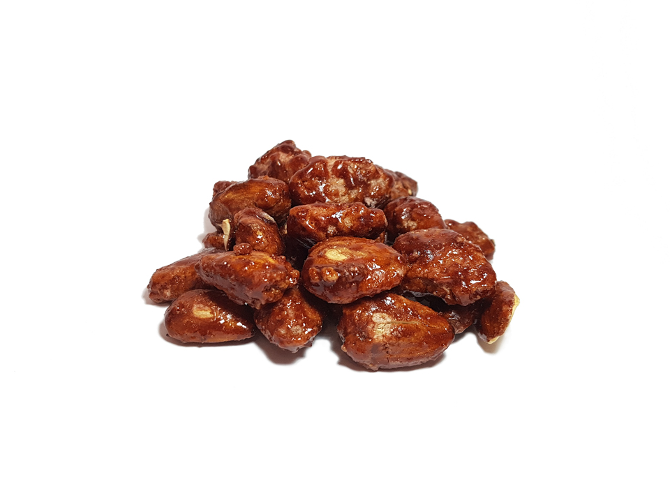 Almonds sugar-coated